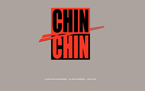 Chin Chin Restaurant Website