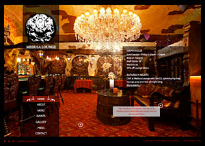 Medusa Lounge Website