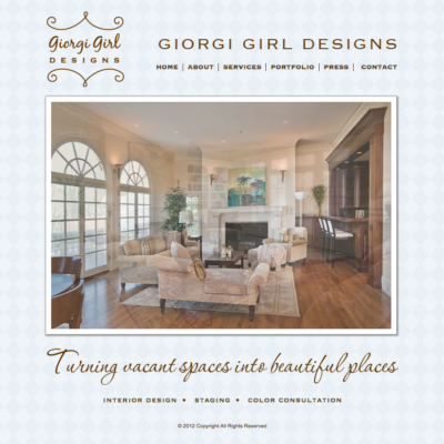Giorgi Girl Interior Designs