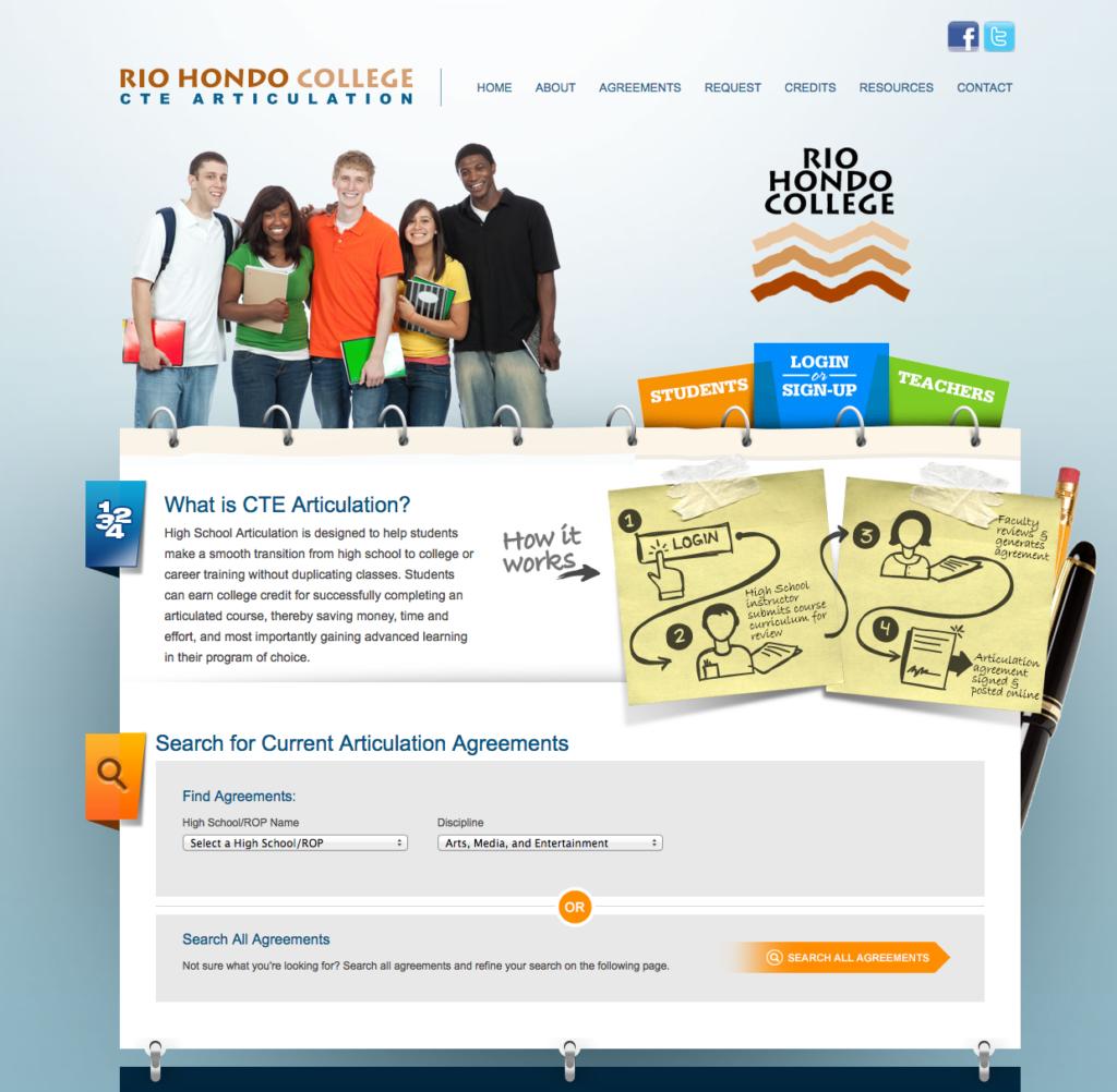 Rio Hondo CTE Articulation Website