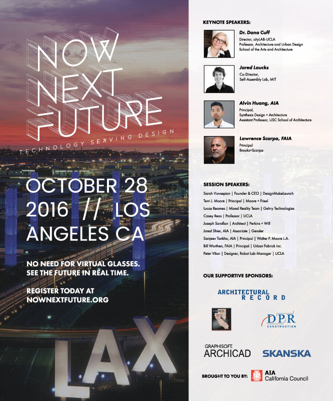 2016 Now Next Future Conference Ad