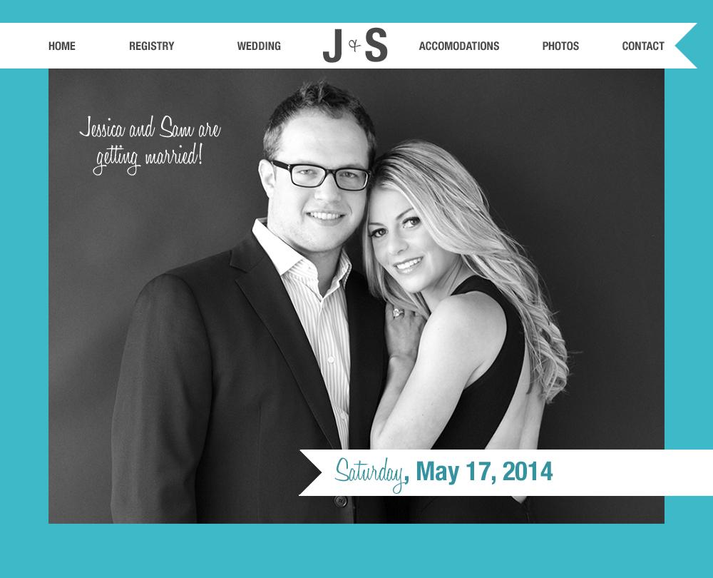 Jessica and Sam Engagement Website