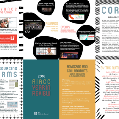 2016 AIACC Year in Review Folding Poster