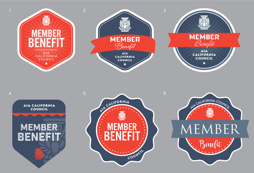 Web and Print Badges