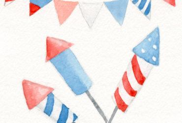 4th of july-illustration